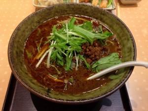 ごまめ家黒ごま味噌担々麺