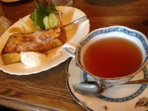 茶洋館マサラ モーニングセット