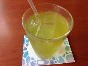 デニーズ 宇治冷緑茶