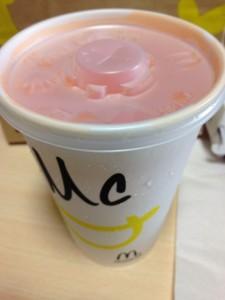 マクドナルド 野菜ジュース