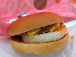 ロッテリア 蒙古丼バーガー