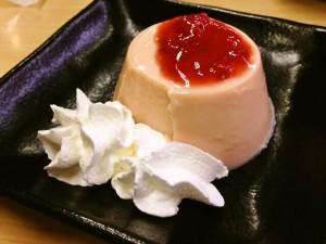 スシロー あまおう苺のムースプリン