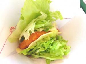 モスバーガー 菜摘フィッシュバーガー