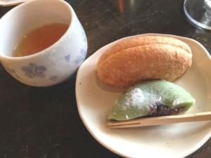 カフェドゥルセ(Cafe Dulce)美術館前店お茶菓子