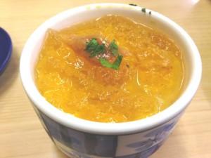スシロー 和風ジュレの冷製茶碗蒸し
