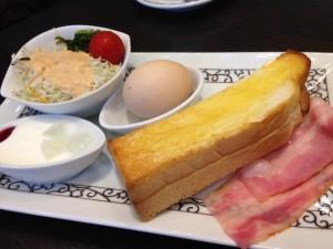 元町珈琲 プレミアムモーニングセットトースト