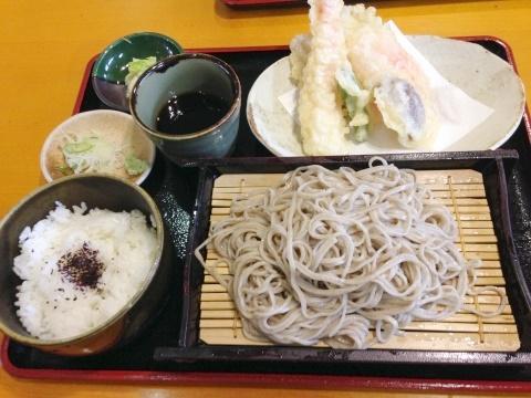 道の駅「織部の里もとす」レストラン和美庵 天ぷら定食