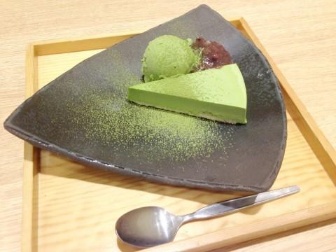 おひつごはん四六時中 モレラ岐阜店の抹茶ケーキ