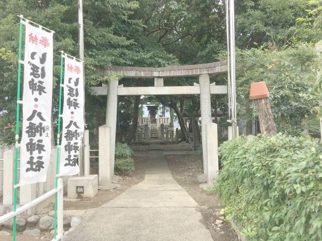いぼ神社 境内入り口