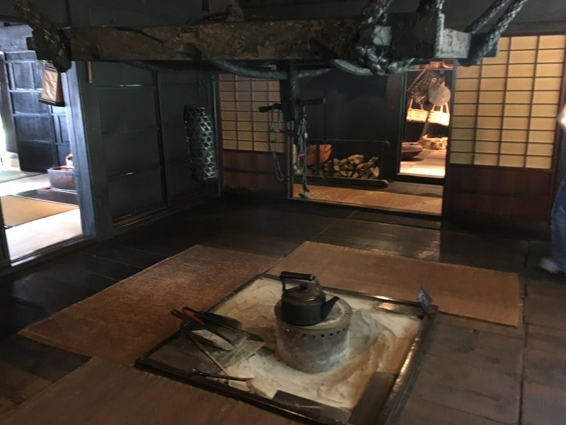 遠山家 囲炉裏のある部屋その2