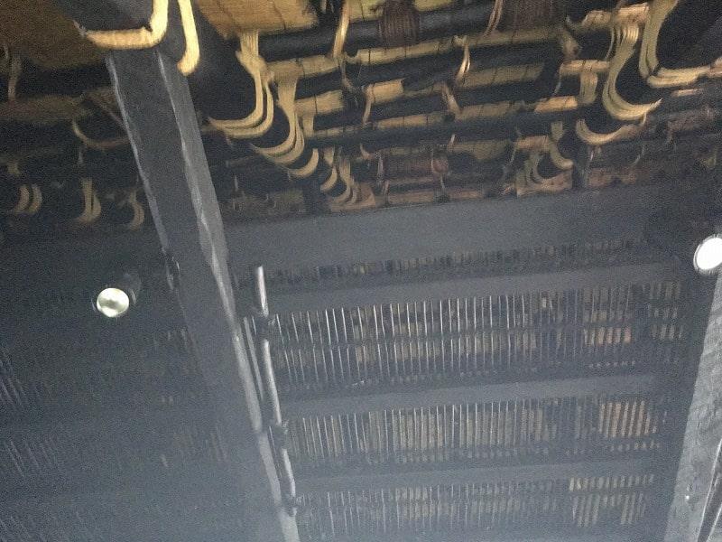 遠山家 1階から天井