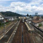 飛騨古川駅 電車到着